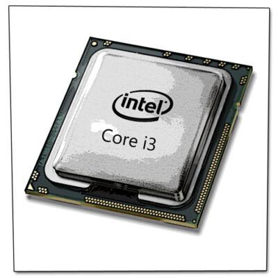 Core I3 550 4x3200MHz (2 mag, 4 szál) s1156 OEM CPU