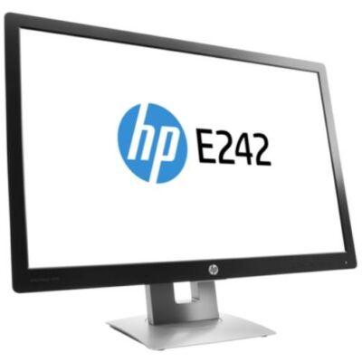 "HP Elite E242 24"" LED Backlit FULL HD IPS HDMI LCD monitor"
