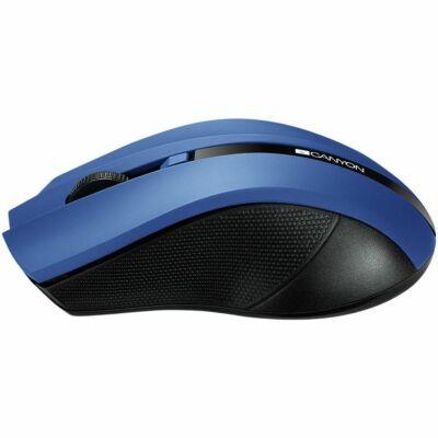 CANYON CNE-CMSW05 WIRELESS kék optikai egér 1600dpi ÚJ