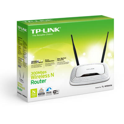 TP-Link WR841N 2 ant. 300Mbps Wifi router ÚJ
