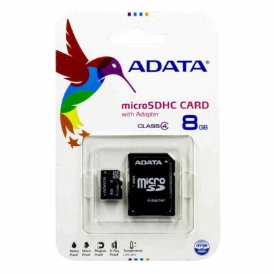 Adata 8GB Micro SD memória CL4 ÚJ
