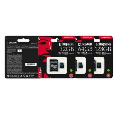 Kingston 32GB Micro SD UHD 4K memória ÚJ