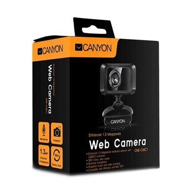 Canyon CNE-CWC1 USB mikrofonos Webkamera ÚJ