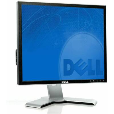 "Dell 1907FP 19"" LCD monitor fekete"