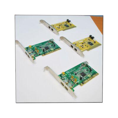 PCI IEEE 1394 (firewire) kártya (vegyes márka)