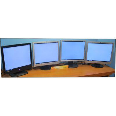 "Vegyes 19"" LCD monitor ""B"" kat, enyhe folt, karc"